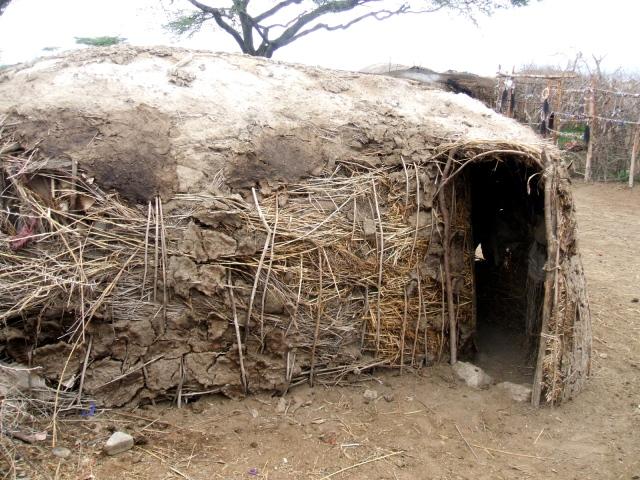 A simple Masai house